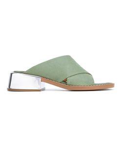MM6 by Maison Margiela   Mm6 Maison Margiela Cross-Strap Sandals