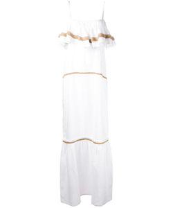 DAFT | Длинное Платье С Оборками На Груди