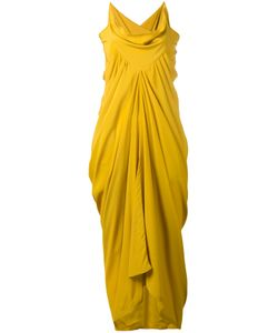 Rick Owens | Ruched Evening Gown Size 42