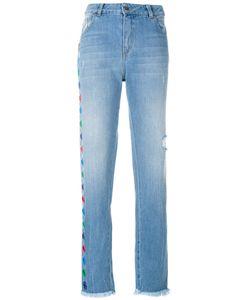 Each X Other | Appliqué Straight Leg Jeans Women
