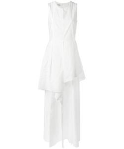 Brunello Cucinelli   Laye Maxi Dress Large Cotton/Polyamide/Acetate/Silk