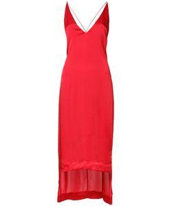 Dion Lee   V-Neck Cami Dress 8 Polyester