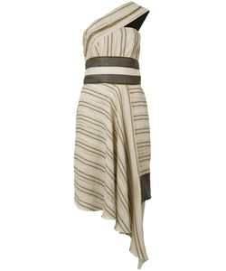 Sophie Theallet | Striped Asymmetric Dress Size 4