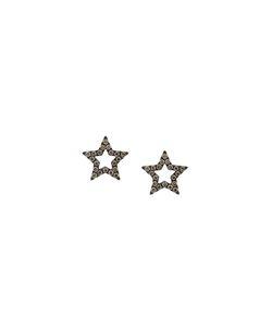 ROSA DE LA CRUZ | Diamond Encrusted Star Earrings