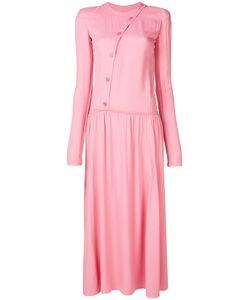 Nina Ricci | Платье С Планкой На Пуговицах