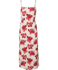 Adam Lippes | Print Fitted Dress Size 0