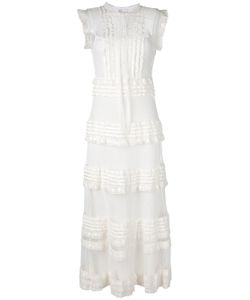 Red Valentino | Frill Panel Dress