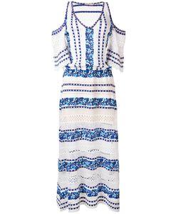 CECILIA PRADO | Long Cold Shoulder Dress Size Large