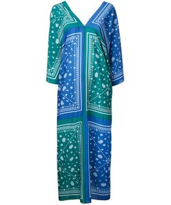 FLEAMADONNA | Paisley-Print Kaftan Dress