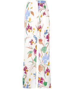Diane Von Furstenberg | Print Straight Trousers