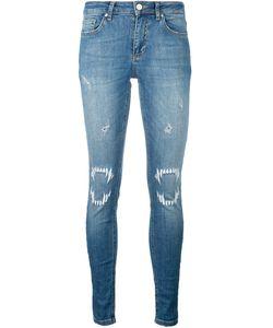 Zoe Karssen   Vampire Detail Jeans