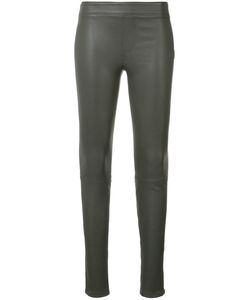 Helmut Lang | Leather Leggings 8 Leather