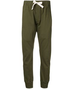 Bassike   French Terry Cuffed Trousers 6 Cotton