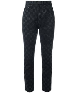 Marc Jacobs | Checker Print Flood Stovepipe Jeans 28/30