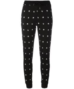 Mcq Alexander Mcqueen | Swallow Print Trackpants Xs Polyamide/Spandex/Elastane