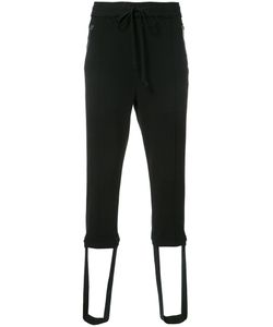CHRISTIAN DADA | Drawstring Cropped Track Pants 48 Cotton