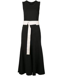 Bassike | Belted Dress 8 Elastodiene/Polyamide/Viscose
