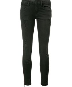 Etienne Marcel | Side Zip Detail Jeans 27 Cotton/Spandex/Elastane