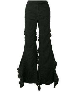 Marco De Vincenzo | Frill Trim Flared Trousers