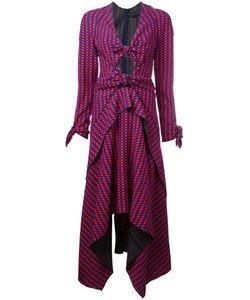Proenza Schouler | Knot Front Midi Dress Size 12