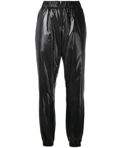 Kenzo | Wet-Look Joggers 36 Polyurethane/Cotton