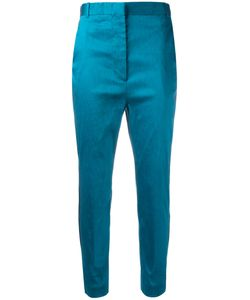 Haider Ackermann | Cropped Trousers 40 Linen/Flax/Nylon/Spandex/Elastane/Cotton