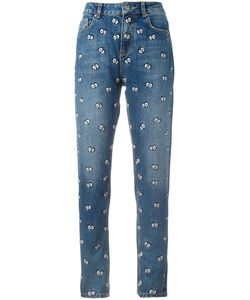 Zoe Karssen | Janis Cartoon Eyes Jeans 28 Cotton