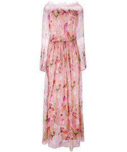 Blumarine   Print Gown 42
