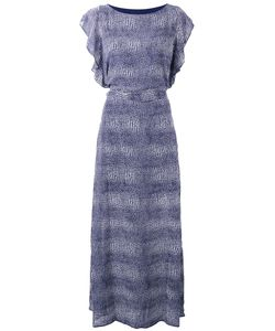 Michael Michael Kors | Patterned Maxi Dress Size Medium