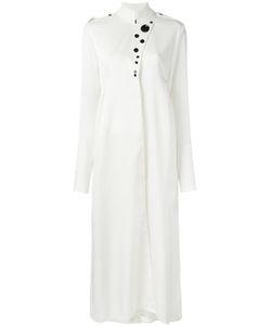Ellery | High Neck Shirt Dress 10 Silk/Spandex/Elastane