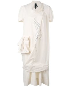 Bernhard Willhelm | Асимметричное Платье С Накладным Карманом