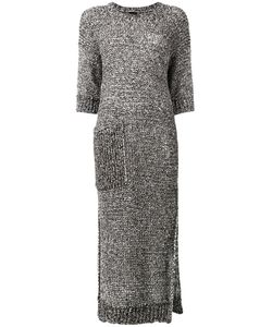 Joseph | Knitted Dress Large Polyester/Cotton/Polyamide