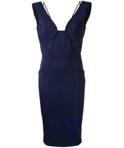 Victoria Beckham   Off Shoulder Bustier Dress