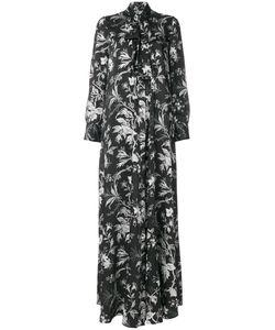 Mcq Alexander Mcqueen | Длинное Платье С Завязкой На Бант