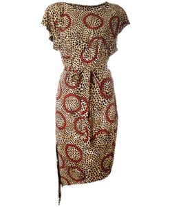 Vivienne Westwood Anglomania | Leopard Print Belted Dress