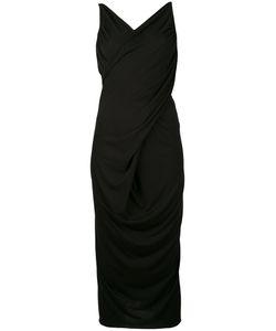 Rick Owens Lilies | Crossover Low Back Midi Dress