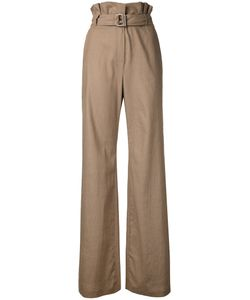 N Duo | Flared High-Waisted Trousers Size