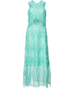 CHRISTIAN SIRIANO | Long Embroidered Dress