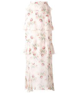VILSHENKO | Print Skirt 8 Silk