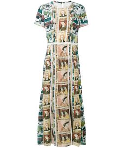 Burberry | Framed Heads And Reclining Figures Print Dress