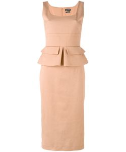 Tom Ford | Sleeveless Peplum Dress Size 42