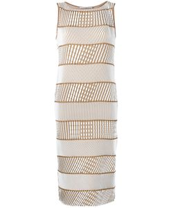 Issey Miyake | Ribbed Detail Dress Size