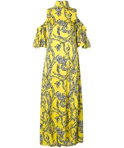 Ellery | Cold Shoulder Dress 10 Silk/Spandex/Elastane
