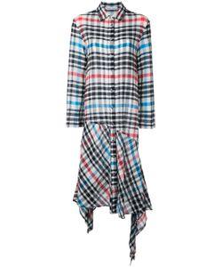 Tsumori Chisato | Checked Asymmetric Dress