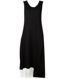 Y'S | Panelled Asymmetric Hem Dress