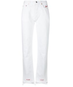 FORTE COUTURE | Embroidered Lovers Jeans