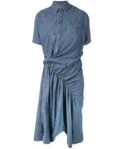 JUNYA WATANABE COMME DES GARCONS | Junya Watanabe Comme Des Garçons Asymmetric Seam Denim Dress Size