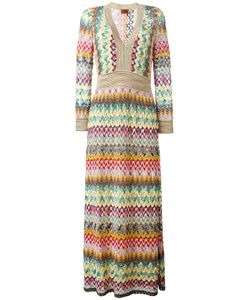 Missoni | Zig Zag Dress 44 Viscose/Cupro/Polyester/Silk