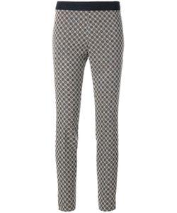 VIA MASINI 80 | Patterned Elasticated Trousers Women