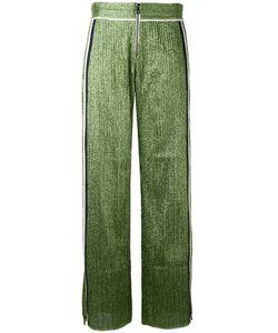 Aviù | Side-Stripe Lurex Trousers
